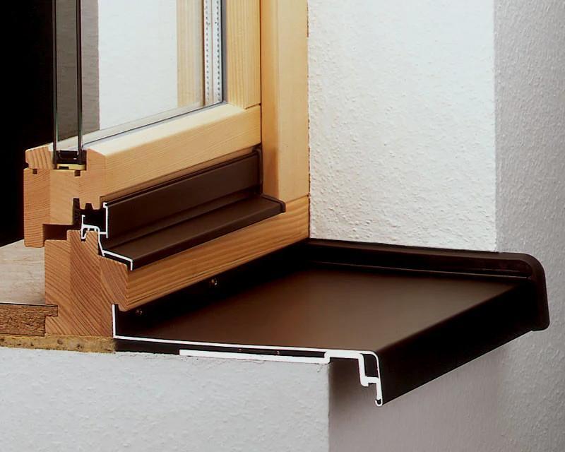 Отливы на деревянные окна