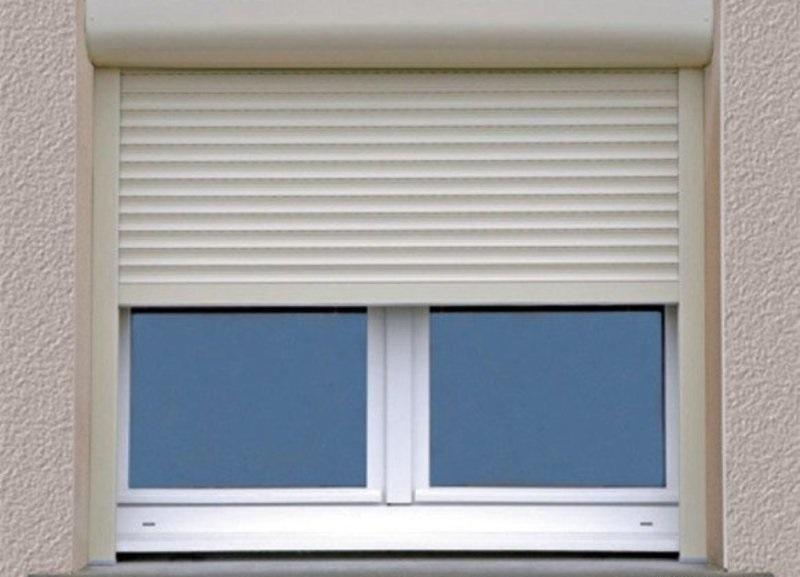 Рулонные ставни на окна