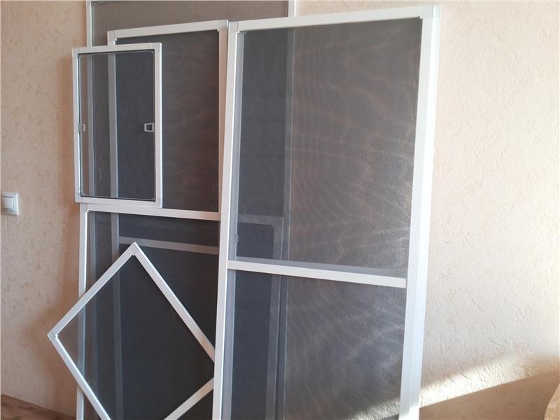 Простые москитные сетки на окна