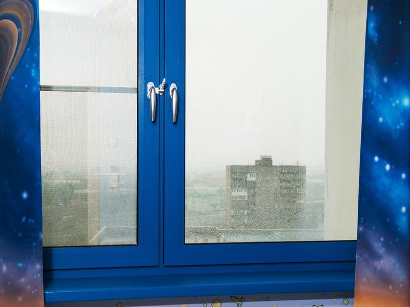 Крашенные окна