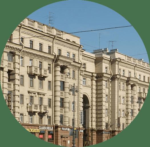 Балконы в домах типа Сталинка
