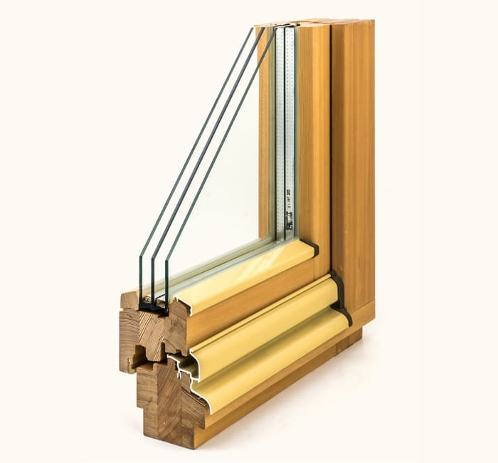 Заказать деревянные окна из лиственницы в Москве и МО