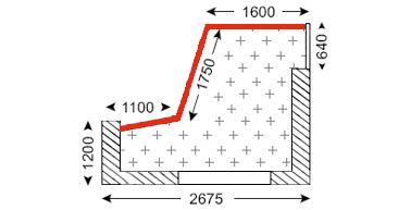 Схема лоджии в доме типа П-3