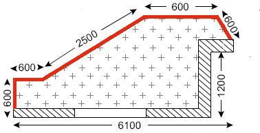Схема лоджии в доме типа ПД-4/ПД-4М