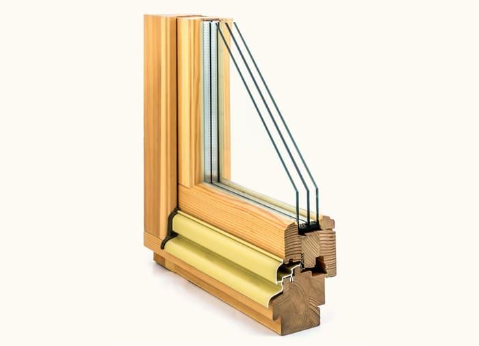 Заказать деревянные окна из сосны в Москве и МО