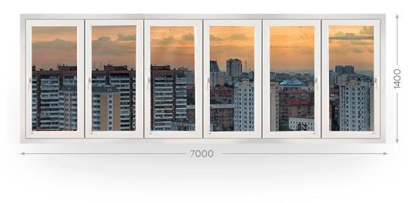 Остекление балконов и лоджий в Москве и МО