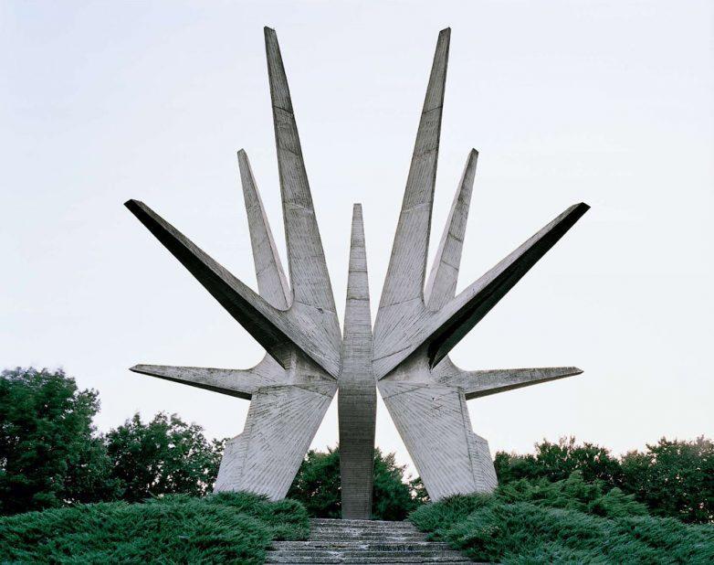 Мемориал в Белграде посвященный партизанскому отряду из Космая
