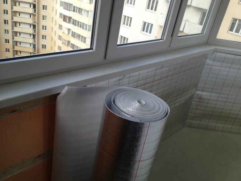 Утепление балконов и лоджий гидроизоляцией в Москве и МО