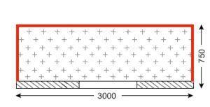 Схема балкона в домах серии хрущёвка