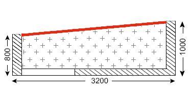 Схема балкона в домах серии I-515/9Ш