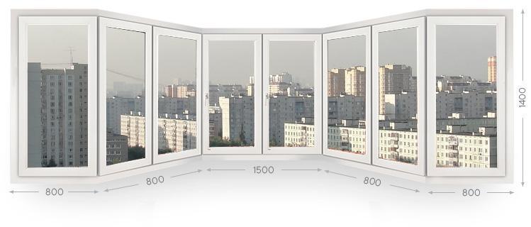 Эркерное остекление балконов и лоджий в Москве и МО