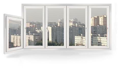 Остекление балконов в домах серии I-515/9Ш