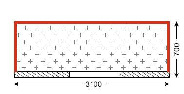 Схема балкона в доме серии II-07