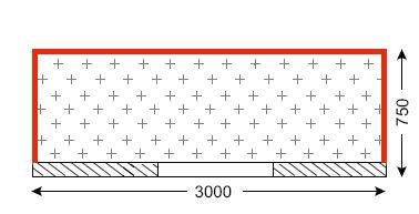 Схема лоджии в домах серии КОПЭ