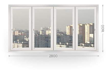 Остекление лоджий и балконов в Москве и МО