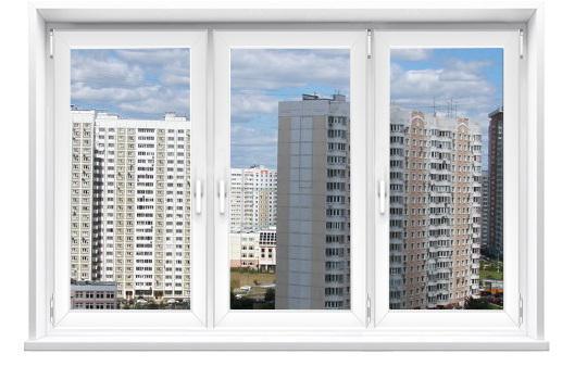 Заказать готовое трёхстворчатое окно в Москве и Московской области