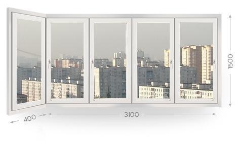 Остекление угловых балконов и лоджий в Москве и МО