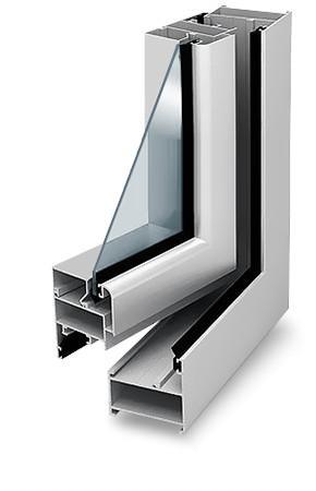 Распашные алюминиевые окна на балконы и лоджии Москвы и МО