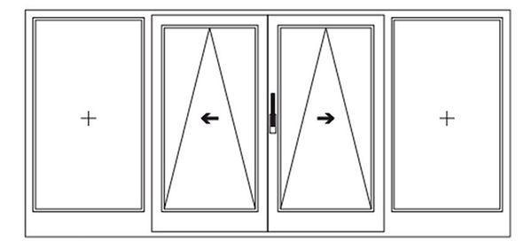 Схема открывания портальных окон