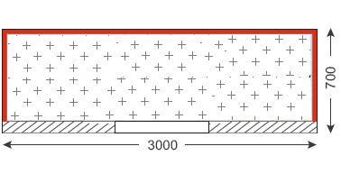 Схема балкона в сталинском доме