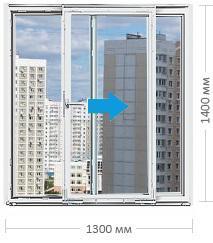 Портальное остекление окнами ПВХ в Москве и МО
