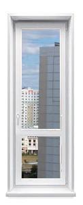 Дверь балконная со стеклопакетом заказать в Москве и Московской области