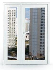 Двухстворчатая дверь заполненная стеклопакетом заказать в Москве и Мо
