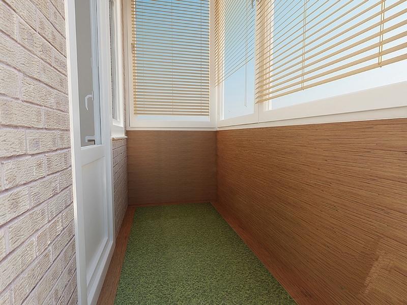 Покрытие ковролином пола на лоджии и балконе
