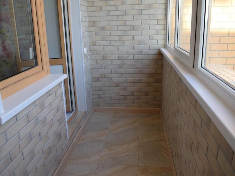 Кафельная плитка на лоджии или балконе