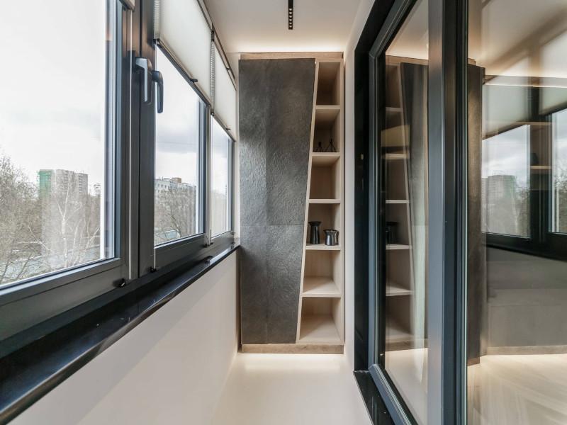 Встроенная мебель на балконах и лоджиях в Москве и Московской области