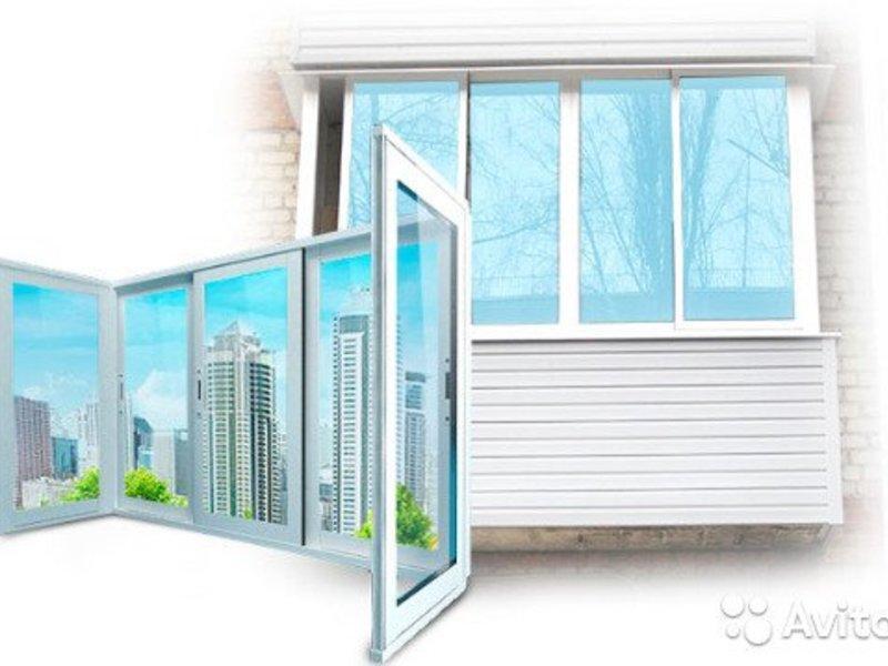 Фото работы по остеклению и комплексной отделки балконов и лоджий