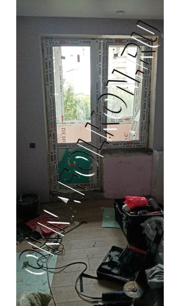 Балконный блок окна ПВХ
