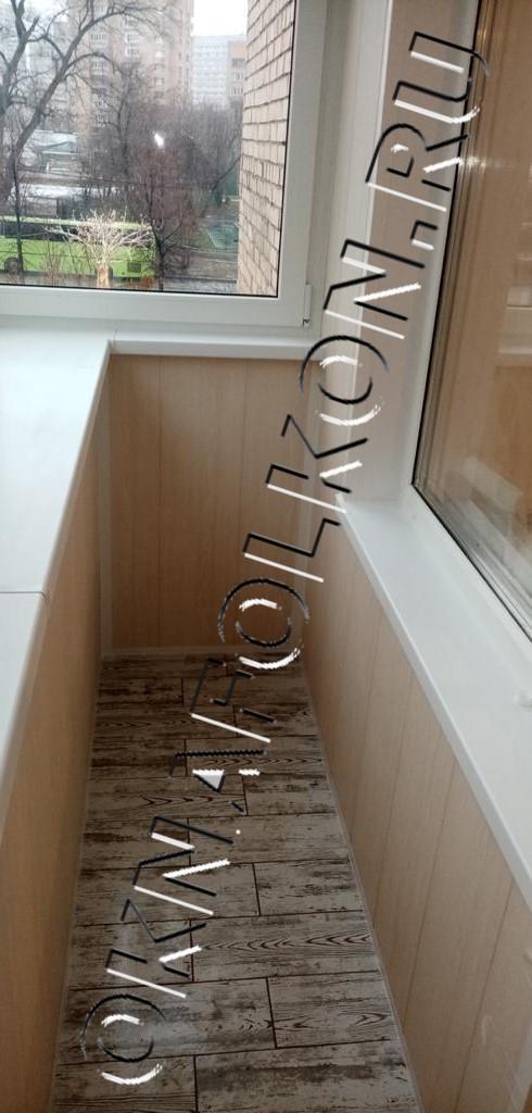 Комплексная отделка и остекление балконов в Москве