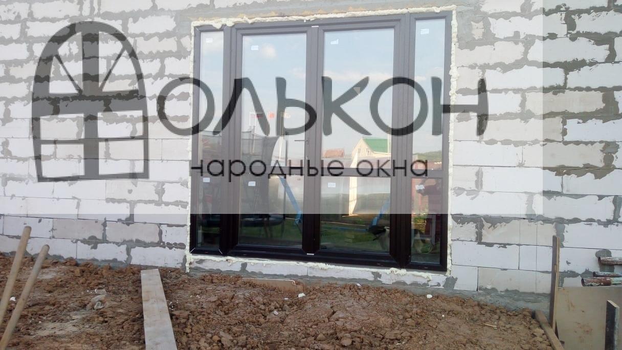 Ламинированные окна ПВХ на дачу