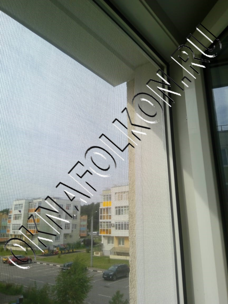 Москитная сетка на окна ПВХ