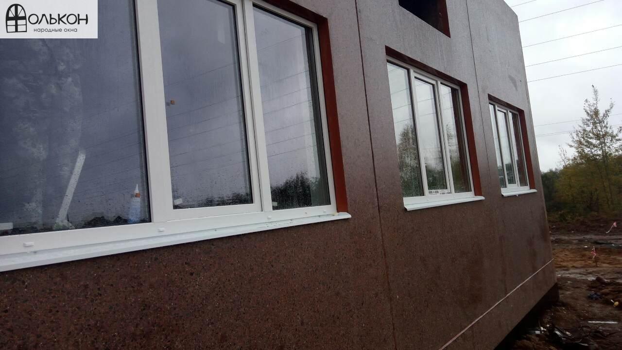 Окна ПВХ в загородный дом