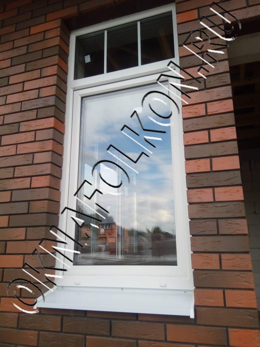 Окно ПВХ в загородный дом