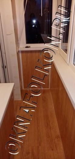 Остекление балкона и комплексная отделка