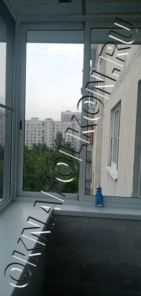 Остекление окнами PROVEDAL с выносом