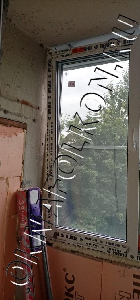 Пластиковые окна на лоджии с утеплением парапета