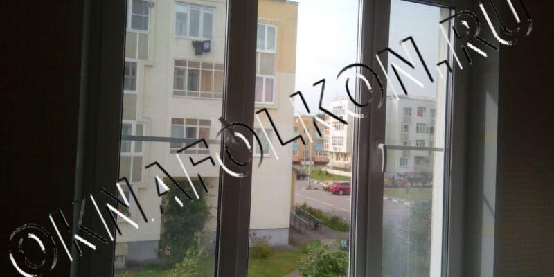 Трёхстворчатое окно ПВХ купить в Москве