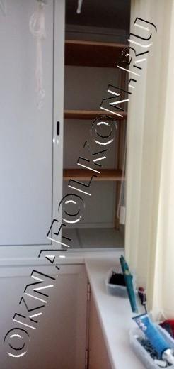 Встроенная мебель на балконах и лоджиях