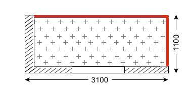 Схема лоджии в доме серии П-42